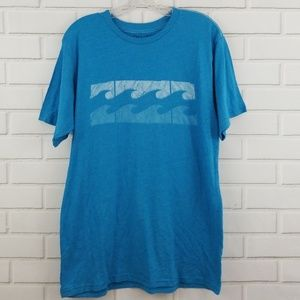 Billabong Waves Graphic Polyester Blend Tee